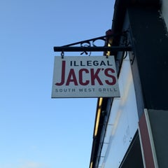 Photo taken at Illegal Jack's South West Grill by Sam B. on 2/18/2012