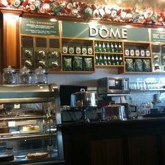 Photo taken at DÔME Café by Jolene K. on 1/12/2011