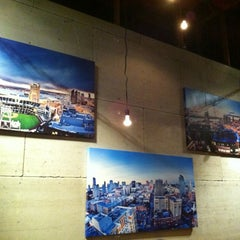 Photo taken at Basic Urban Kitchen & Bar by Mark Gregory V. on 3/16/2012