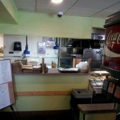 Photo taken at John's Italian Deli by Chris K. on 4/11/2012