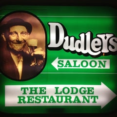 Photo taken at Dudley's Saloon by Ryan R. on 3/17/2012