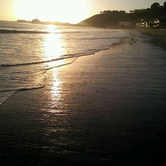 Photo taken at Malibu Public Beach by Sandie E. on 1/23/2012