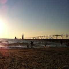 Photo taken at Grand Haven State Park by Todd B. on 10/8/2011