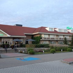 Photo taken at Van der Valk Hotel Emmen by Andi M. on 8/19/2012
