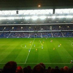Photo taken at Ibrox Stadium by Vanessa H. on 8/30/2012