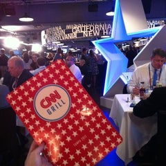 Photo taken at CNN Grill @ RNC (Tampa Bay Times Forum) by Rachel S. on 8/29/2012