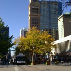 Photo taken at 16th Street Mall by Aggie H. on 10/19/2011