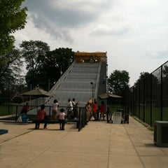 Photo taken at The Giant Slide by Julie P. on 8/6/2011