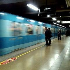 Photo taken at Metro Irarrázaval by Marcelo A. on 9/5/2012