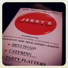 Photo taken at Jerry's Famous Deli by Trevor H. on 6/2/2012