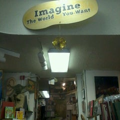 Photo taken at Every Thing Goes Cafe and Bookstore by Brian K. on 12/30/2011