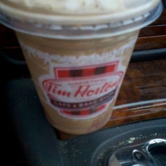 Photo taken at Tim Hortons Cafe & Bake Shop by Tracie L. on 7/26/2012