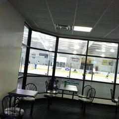 Photo taken at Lou & Gib Reese Ice Arena by Joe C. on 8/6/2012