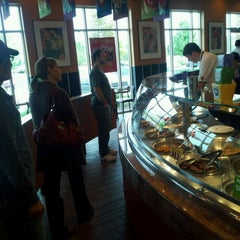 Photo taken at Panda Express Gourmet Chinese Food by Kerry S. on 9/22/2011