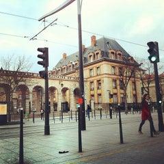 Photo taken at Station Cité Universitaire [T3a] by Adrien d. on 3/10/2012