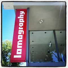 Photo taken at Lomography Gallery Store LA by Frank L. on 9/1/2012