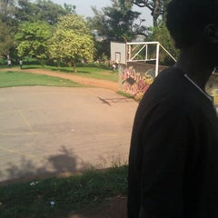 Photo taken at Basketball Court (By Swimming Pool) by mr Goodkat k. on 3/5/2012