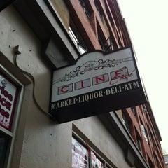 Photo taken at Cine Market & Cafe by Ryan D. on 7/24/2011