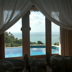 Photo taken at Santhiya Resort And Spa Koh Phangan by Markus G. on 7/23/2012