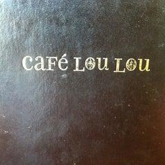Photo taken at Cafe Lou Lou by Patrick N. on 10/15/2011