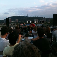 Photo taken at Terrasse - Ubisoft Montreal by Isa G. on 9/24/2011