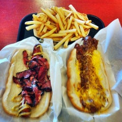 Photo taken at Jerry's Dogs by Fastfood M. on 6/24/2011