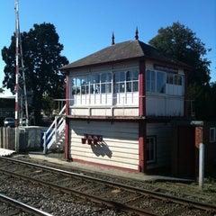 Photo taken at Oakham Railway Station (OKM) by Phil on 12/9/2011