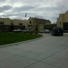 Photo taken at Rock Island Center For Math & Science by Robert M. on 5/3/2011