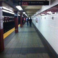 Photo taken at MTA Subway - 34th St/Penn Station (A/C/E) by Scott G. on 8/26/2011