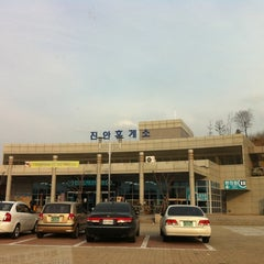 Photo taken at 진안휴게소 by daehyun k. on 3/27/2011