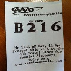 Photo taken at AAA Minneapolis - St. Louis Park by Greg G. on 4/14/2012