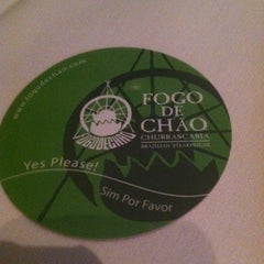 Photo taken at Fogo de Chao by Ana B. on 7/10/2012