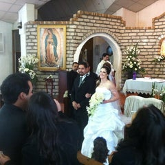 Photo taken at Iglesia de San jose del Uro by Mario I. on 2/25/2012