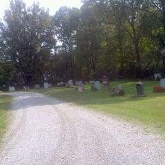 Photo taken at Stockbridge Cemetery by Peter W. on 9/30/2011