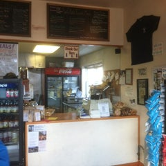 Photo taken at Wally's Place - Bagel & Deli by Scott R D. on 12/10/2011