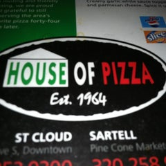 Photo taken at House of Pizza by Amber B. on 2/26/2012