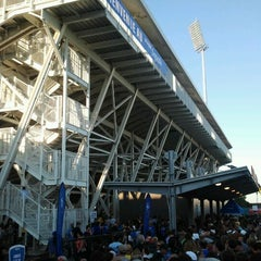 Photo taken at Stade Saputo by JulienF on 6/16/2012