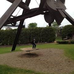 Photo taken at Minneapolis Sculpture Garden by Kelli B. on 4/28/2012