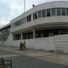 Photo taken at Real Club Náutico de San Sebastián by David J. on 1/28/2011