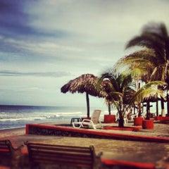 Photo taken at Resort Las Hojas El Salvador by William F. on 6/23/2012
