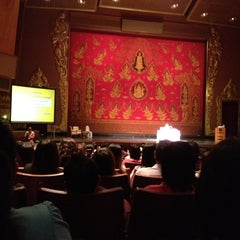 Photo taken at โรงละครแห่งชาติ (The National Theatre) by Sopin K. on 5/22/2012