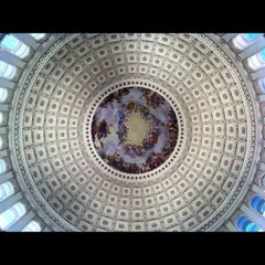 Photo taken at Rotunda of the U.S. Capitol by Elton L. on 8/16/2012
