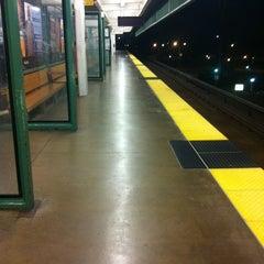 Photo taken at Bay Fair BART Station by Marina L. on 9/2/2012