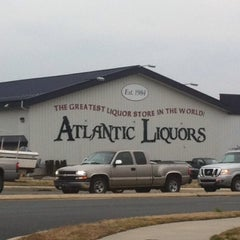 Photo taken at Atlantic Liquors by Missy S. on 2/10/2012