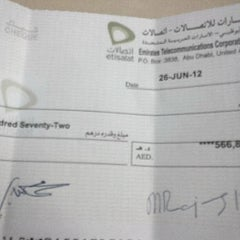 Photo taken at National Bank of Abu Dhabi Corporate and Invesment Banking Division by el7ob_khalid .. on 7/2/2012