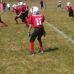 Photo taken at Avon High School Oriole Stadium by MC7576 on 8/11/2012