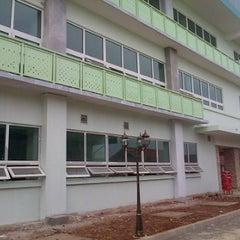 Photo taken at Jakarta International Korean School by Sem J. on 6/5/2012