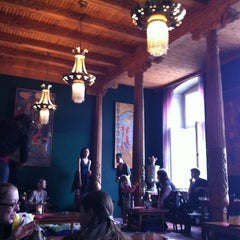 Photo taken at Tadshikische Teestube by Birgit on 4/27/2012
