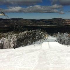 Photo taken at Bear Mountain Ski Resort by Cody R. on 2/14/2012