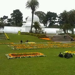 Photo taken at Conservatory of Flowers by Grace G. on 7/15/2012